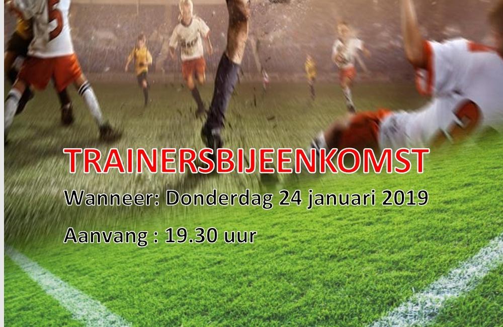 Trainersbijeenkomst 24 Januari
