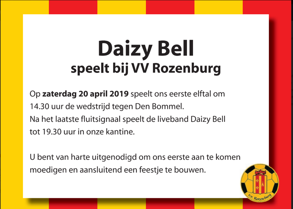Optreden Daizy Bell