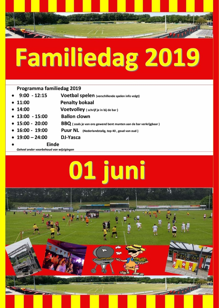 Programma Familiedag 2019