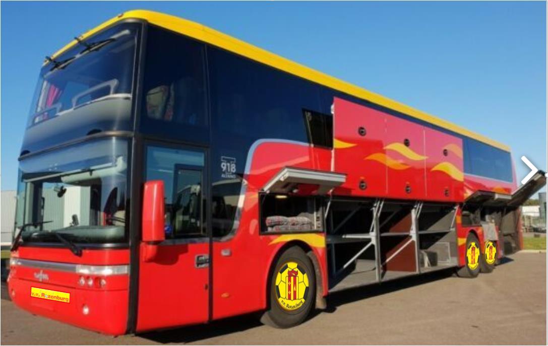 Nacompetitie Rozenburg 1; Met de bus naar Oud Beijerland