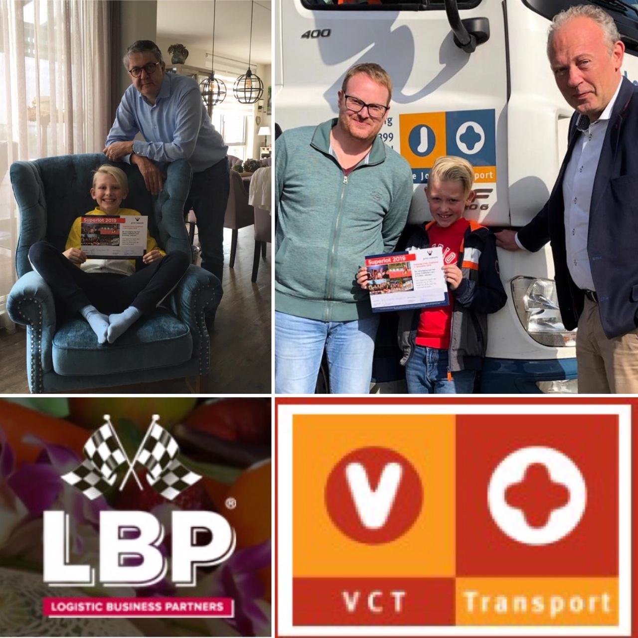 VCT Container Transport B.V. en LBP Rotterdam B.V kopen superloten