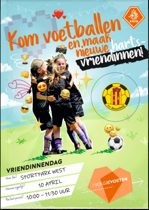 Vriendinnentraining 10 April