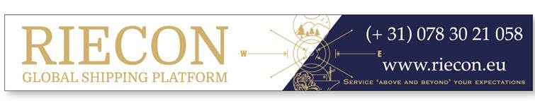 Nieuwe sponsor langs het hoofdveld: Riecon Global Shipping Platform B.V