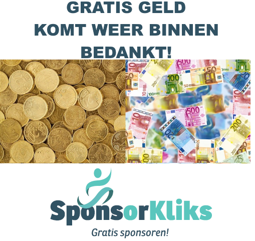 VV Rozenburg krijgt in juni €83.71 uitbetaald van SponsorKliks